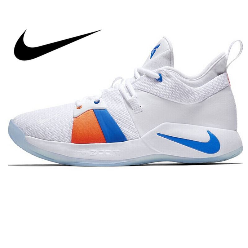 Original Innovative Product 2018 NIKE PG 2 EP Men's Basketball Shoes Breathable and Comfortable Sports Shoes Lace AO2984100