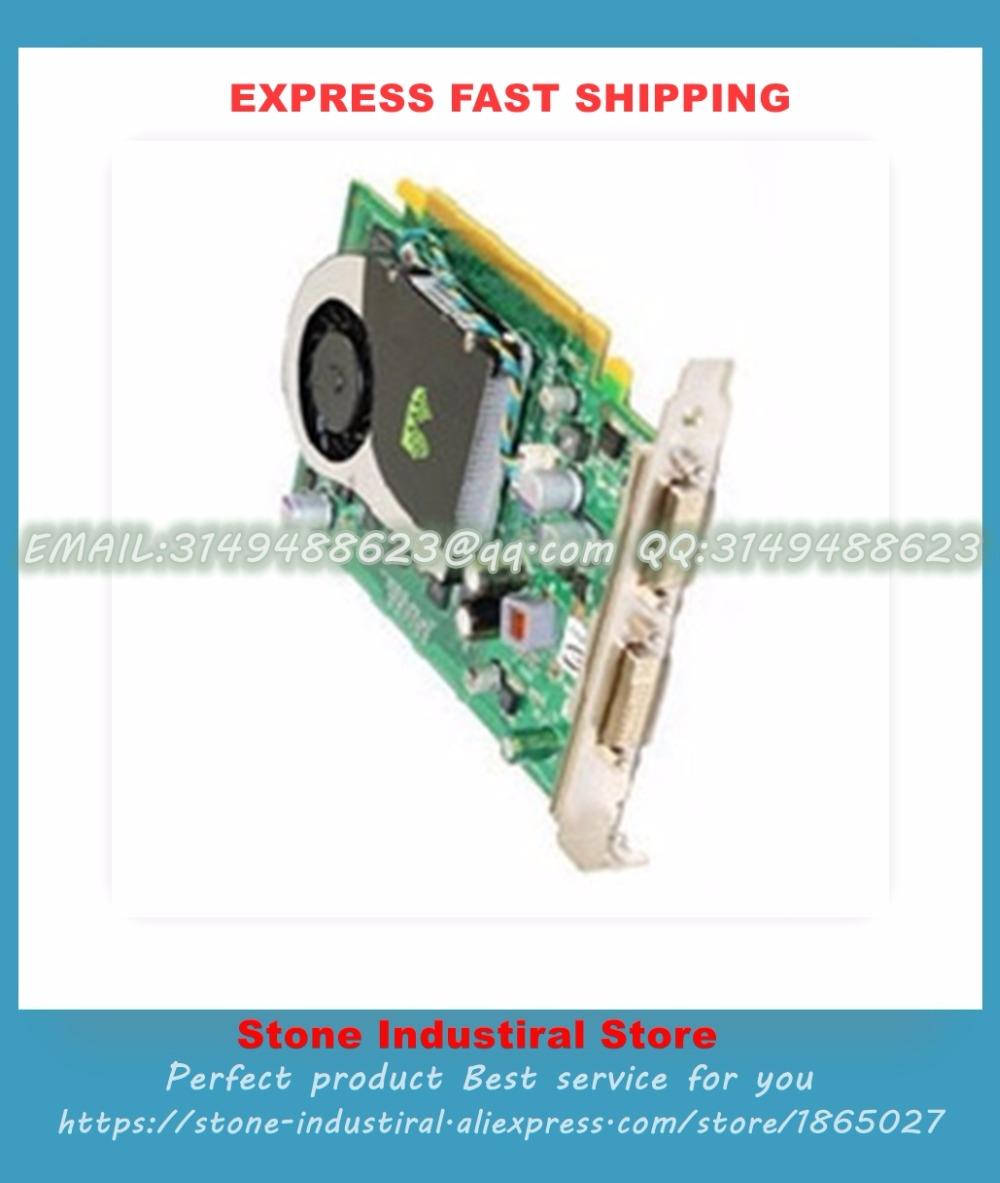 FX 570 PCI-E 256MB Professional graphics ca rd XW397 45R7403 100% Tested Good Quality