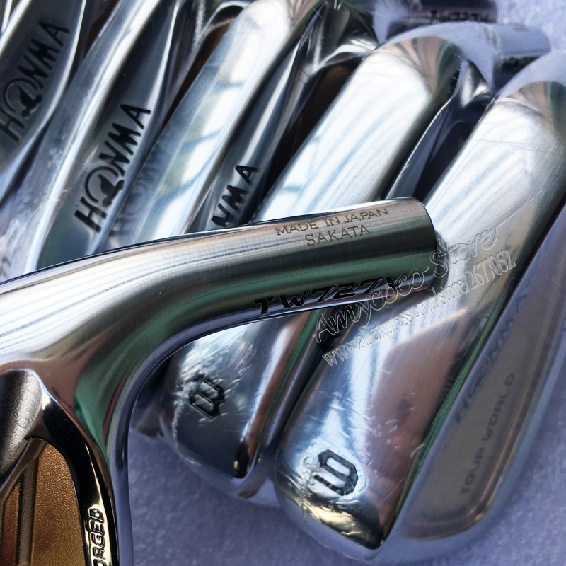 Image 4 - New Mens Golf irons head HONMA TW727V 24k gold irons Golf head set 4 10 Irons Golf Club head no Clubs shaft Free shipping-in Club Heads from Sports & Entertainment