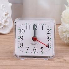 Cute Candy Colors Cartoon Multi-function Trip Bed Beep Desktop Alarm Clock Mini Portable Table Clocks  #20/8