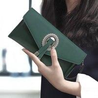 Роскошный изысканный гладить кольцо дамы руки магнитной застежкой сумки украшенные бахромой цепи сумка Конверт Дизайн Женские сумки через