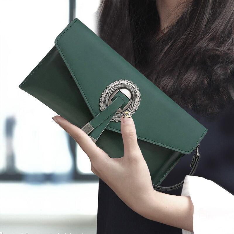 Mains Femmes Luxe De Exquis Chaîne Sacs Magnétique Sac Enveloppe Anneau Décoration Dames Black Conception dark Boucle Messenger Green Fringe Fer xqqXwrCZ