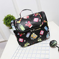 2016 New Parfum Sexy Lip Print Travel Cosmetic Bags Women Toiletry Wash Bag Make Up Bag Hanging Organizer Storage Sorting Bags