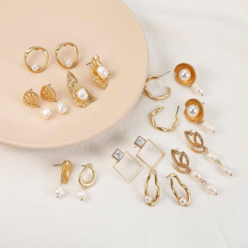Simple Minimalist Jewelry Dangle Earrings For Women ...