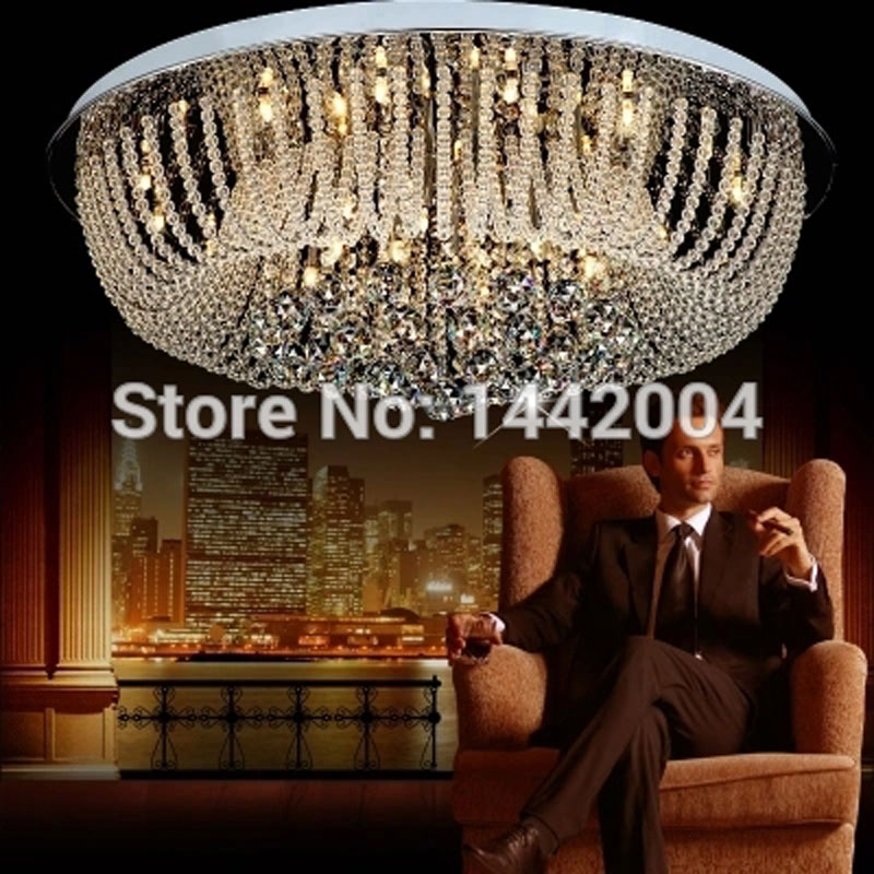 modern crystal lamp round shape led pendant  light for bedroom living room lighting тональный крем