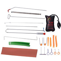 Locksmith Tool Car Auto Tool Body Dent Tool Kit Hail Ding Repair Starter Set Car Radio Panel Door Clip Panel Lock Pick Set