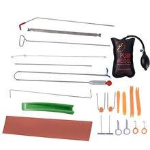 Бесплатная доставка слесарный инструмент автомобиля авто инструмент для рихтовки корпус Dent Tool Kit-град Ding ремонт стартовый набор автомобиля Радио панель двери клип панель
