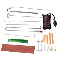 Free Shipping Locksmith Tool Car Auto Tool Body Dent Tool Kit Hail Ding Repair Starter Set Car Radio Panel Door Clip Panel