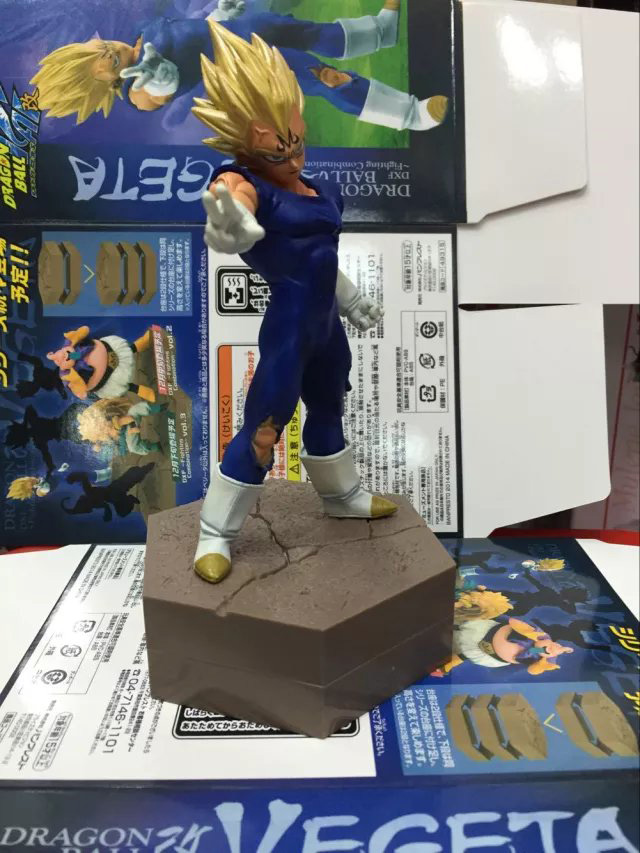 Toys & Hobbies Dbz Dragon Ball Z Kai Dxf Fighting Combination Super Saiyan Majin Vegeta 14cm Action Figure Fashionable And Attractive Packages