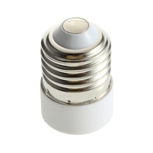 Super cheap LED Adapter E14 to E27 Lamp Holder Converter Socket Light Bulb Lamp Holder Adapter Plug Extender Led Light use(China)