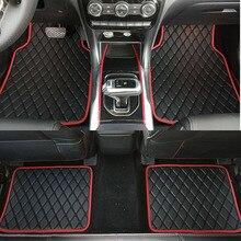 ZHAOYANHUA универсальные автомобильные коврики, коврик для стайлинга автомобиля, подходит для всех моделей BMW F10 F11 F15 F16 F20 F25 F30 F34 E60 E70 E90 mini