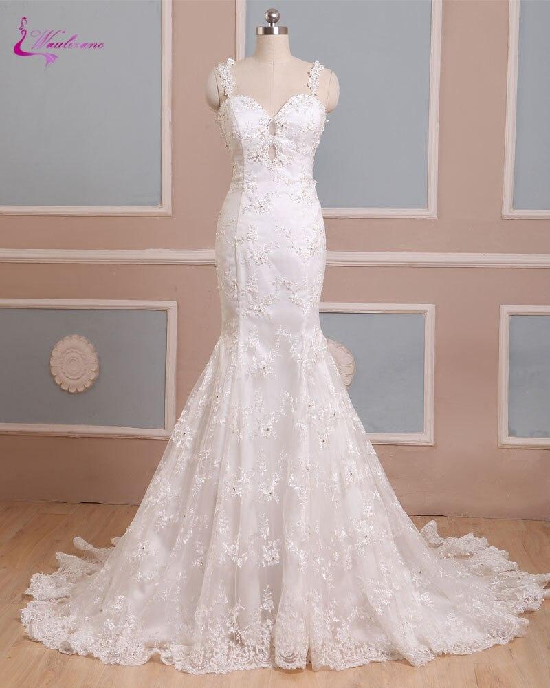 Waulizane Elegant Sweetheart Mermaid Wedding Dresses