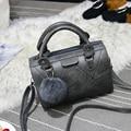 Fashion Patchwork Designer Cattle Split Leather Bags Women Handbag Brand High Quality Ladies Shoulder Bags Women Bag