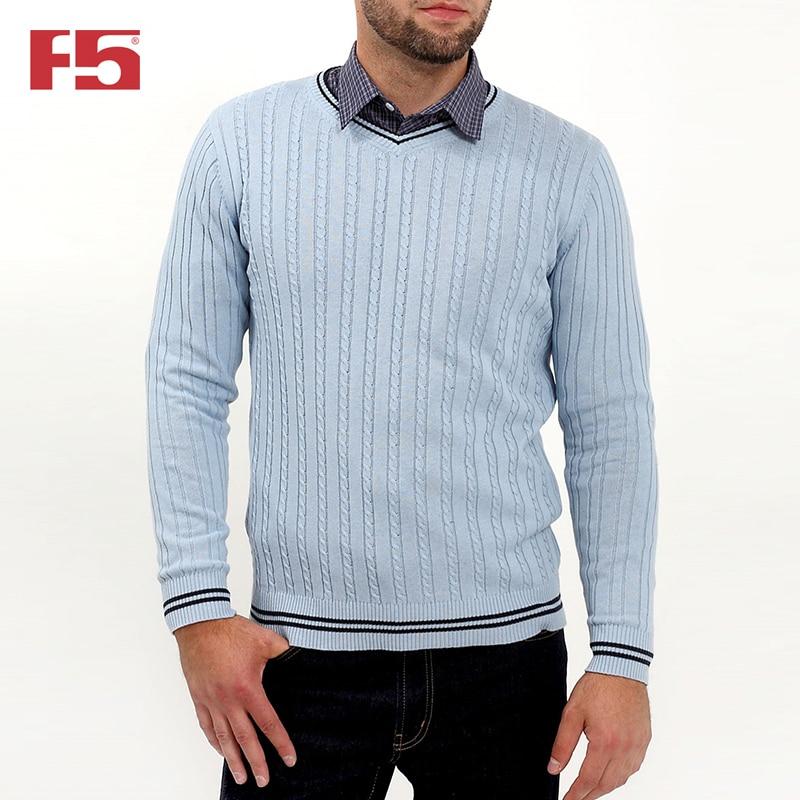Men sweater F5 281001 delicate airplane cross shape sweater chain for men