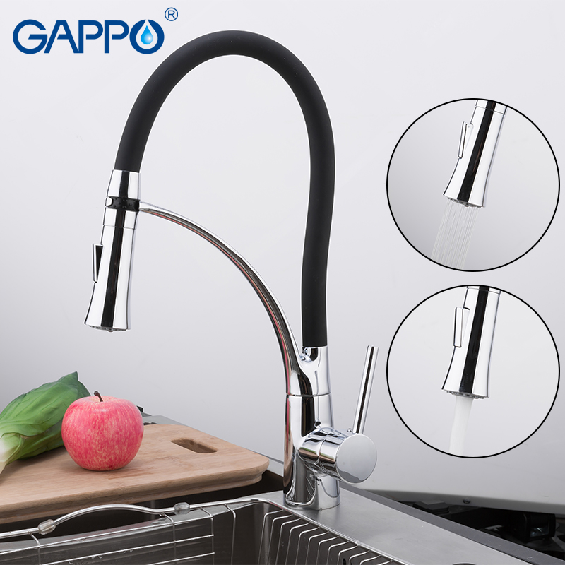 GAPPO Kitchen Faucet Sink Faucets Water Mixer Kitchen Faucets Sink Mixer Waterfall Faucet