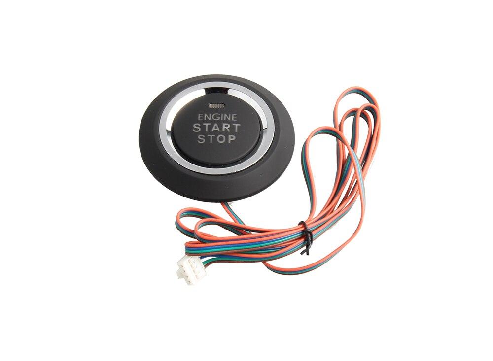 В Наличии! топ Смарт-ключ автосигнализация с PKE (пассивный вход без ключа) дистанционный запуск двигателя push start button сенсорного ввода пароля