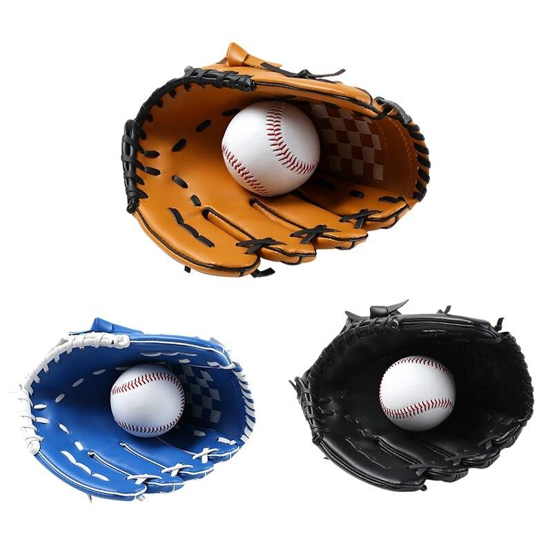Sporthandschuhe Radient Kinder Links Hand Baseball Handschuh Verdicken Für Kinder Und Erwachsene Pvc Verdickung Für Junge Handschuhe Nur S = 10,5