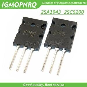 Image 1 - 20 قطعة A1943 C5200 2SA1943 2SC5200 زوج الصوت أنبوب 10 قطعة * A1943 + 10 قطعة * C5200 TO 3PL جديد الأصلي