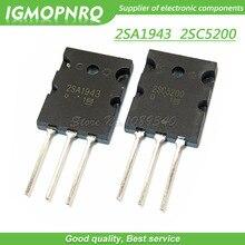 20PCS A1943 C5200 2SA1943 2SC5200  audio pair tube  10PCS* A1943+10PCS* C5200 TO 3PL  new original