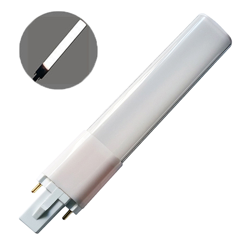 G23 Aluminum Alloy AC85-265V Home 2pin Base Ultra Thin Tube Lamp SMD2835 Replacement 4W 6W 8W Super Birght Decoration LED Bulb