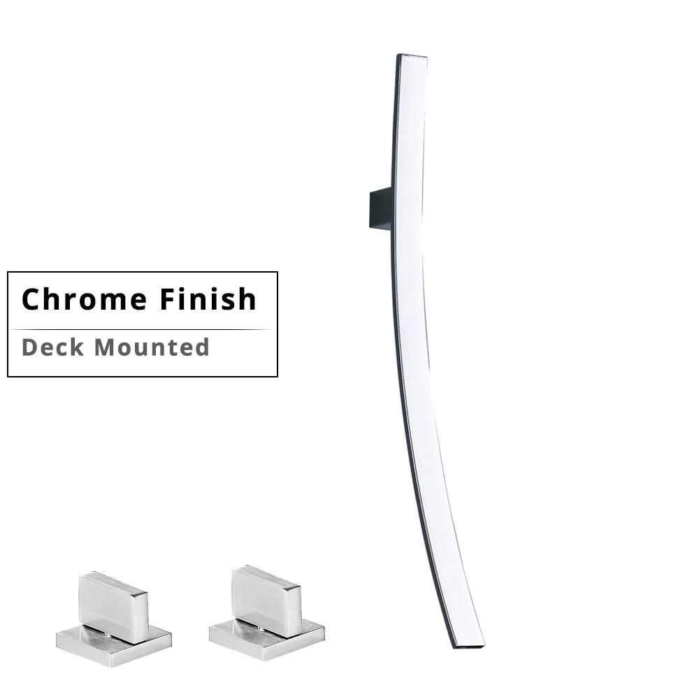 Deck Mounted Chrome