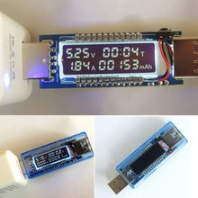 Battery-Tester Current-Meter Usb-Charger Doctor Power-Voltage 3-In-1 Mobile