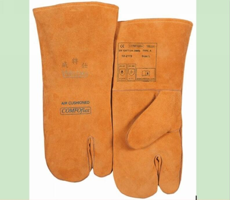 Size 14 Quality Leather Safety Gloves Working Protection Safety Welding Gloves For welding нишевая парфюмерия что это такое википедия