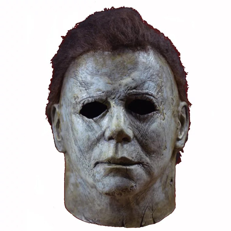 Image 2 - Halloween Hot Movie Latex Horror Michael Myers Mask Adults Cosplay Full Face Halloween Costume Party Props Masks-in Party Masks from Home & Garden