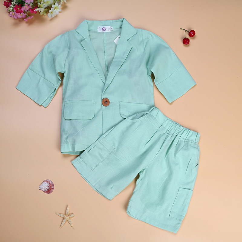 Brand 2016 Kids Formal Wedding Clothes Suit Baby Boy Blazer Set Boys Tuxedo Suits Jacket + Pants Children Clothing For Weddings
