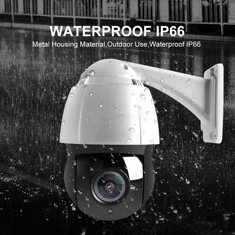 Security Camera 4 5 Inch HD 5MP 1080P PTZ Speed Dome IP Camera Network Onvif Outdoor 30X Optical Zoom Surveillance IP Camera in Surveillance Cameras from Security Protection