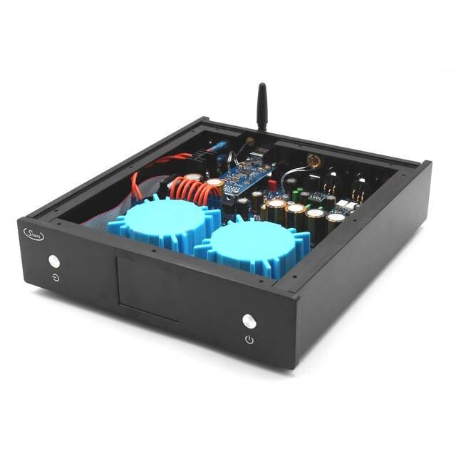 US $349 43 29% OFF|CSR8675 Bluetooth 5 0 aptx hd AK4497 DAC DSD Decoder  Support PCM384K DSD256 XMOS 2 4TFT display For hifi amplifier audio  T0236-in