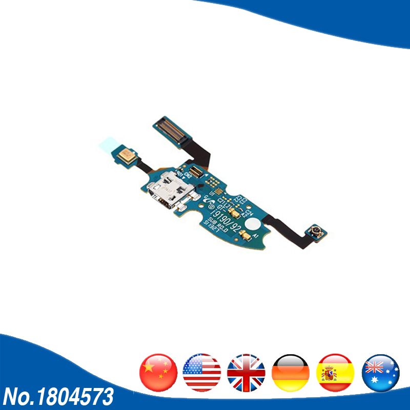 For Samsung Galaxy S4 mini I9190 I9192 i9195 USB Charger Charging Dock Port Jack Socket Flex Cable 1PC/Lot