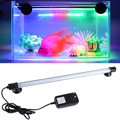 High Quality Aquarium Fish Tank LED Decor Light Waterproof 18/28/38cm Submersible Light Strip Lamp Free Shipping