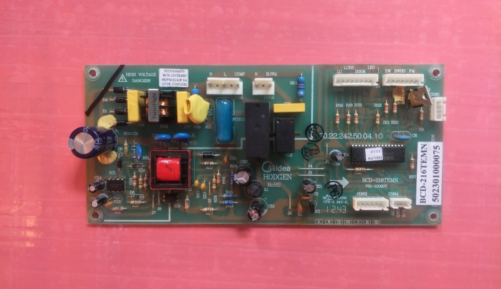 BCD-216TEMN 502301000075 17131000000153 Good Working Tested