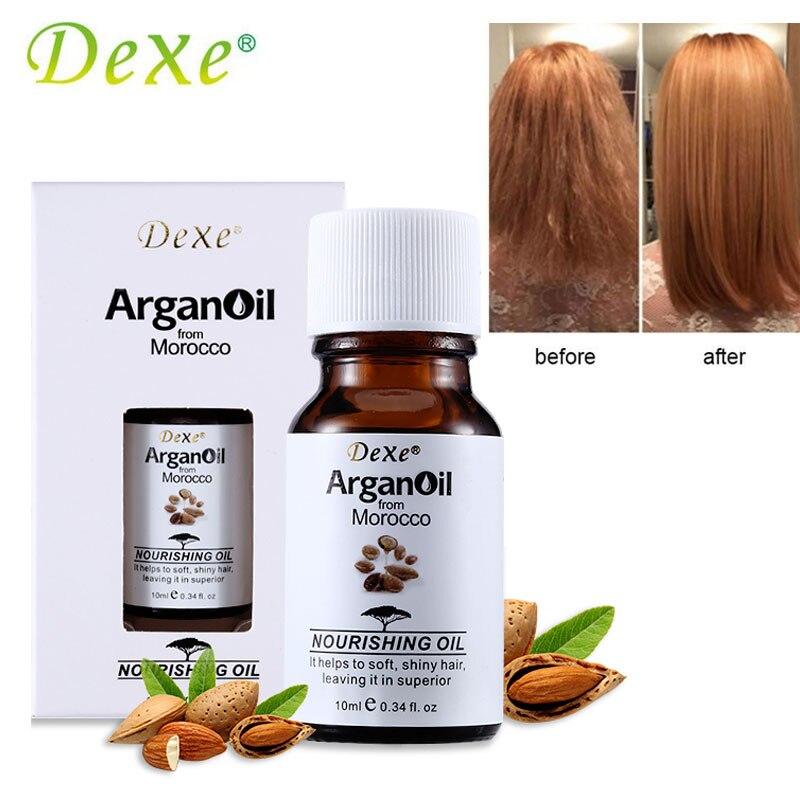 10ml Dexe Nourishing Hair Care Oil Miracle Argan Oi