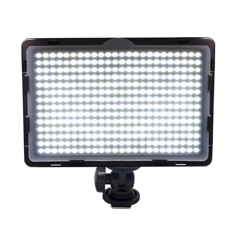 Mcoplus LED 340A Video LED Light for DSLR font b Camcorder b font Video Camera Video