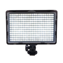 Mcoplus LED-340A Video LED Light for DSLR Camcorder Video Camera Video Shooting Lumen 1600LM with Hot Shoe Mount