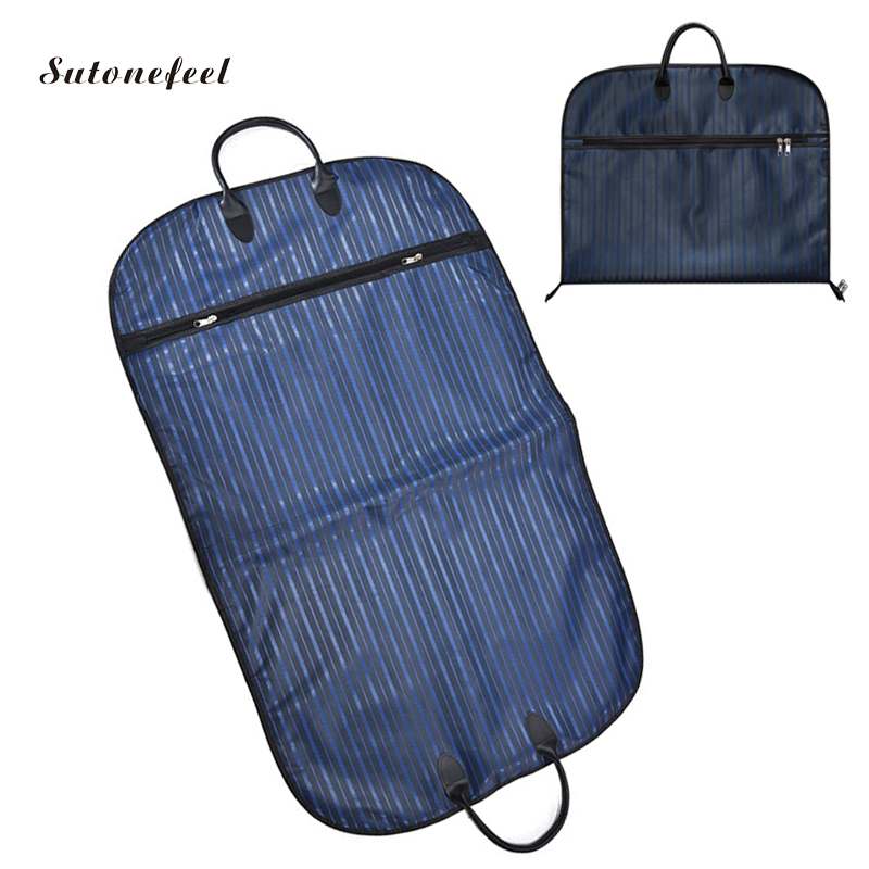 Oxford Suit Storage Bags Garment Bags For Storage Suit Dust Cover Waterproof Portable Clothes Cover Case For Travelling Bags