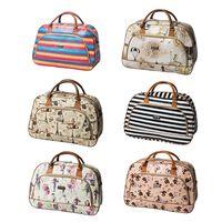 2019 модная Дорожная сумка на молнии из искусственной кожи, дорожная сумка для женщин, сумка для хранения, сумка для путешествий, модный фирме...