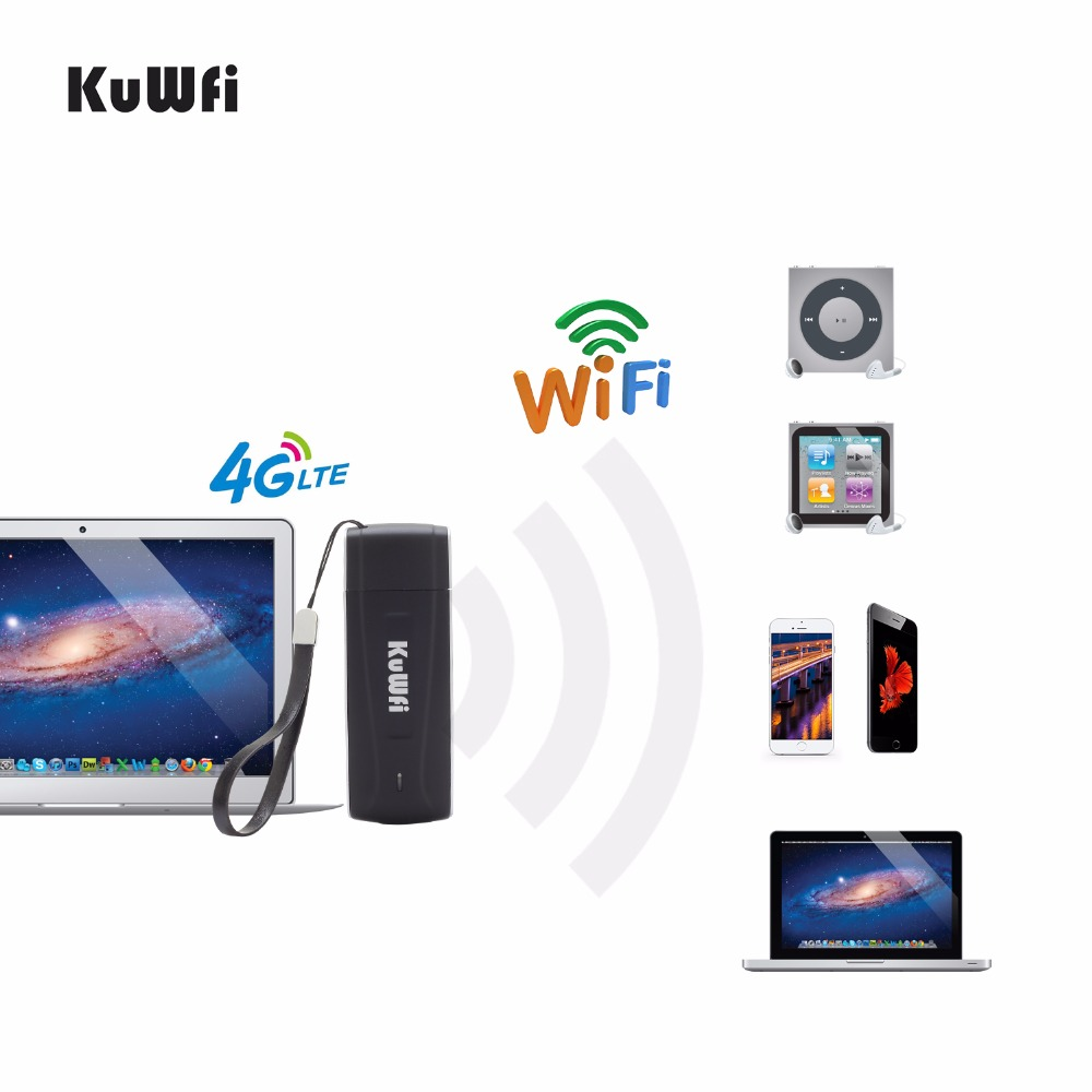 Image 5 - 4G USB Wifi Routers Unlocked Pocket 100Mbps Network Hotspot FDD LTE Wi Fi Router Wireless Modem with SIM Card Slot-in 3G/4G Routers from Computer & Office