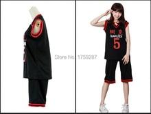Anime Kuroko No Basuke Aomine Daiki Basket Ball Jersey Cosplay Costume
