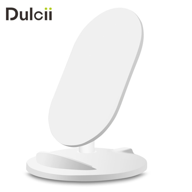 DULCII Qi Wireless Charger Stand Holder No Wire Charging Mount Dock ...