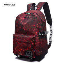 Large Capacity Canvas Backpack Teenagers Schoolbags Women Casual Rucksack Female Travel Shoulder Back Pack Mochila Feminina