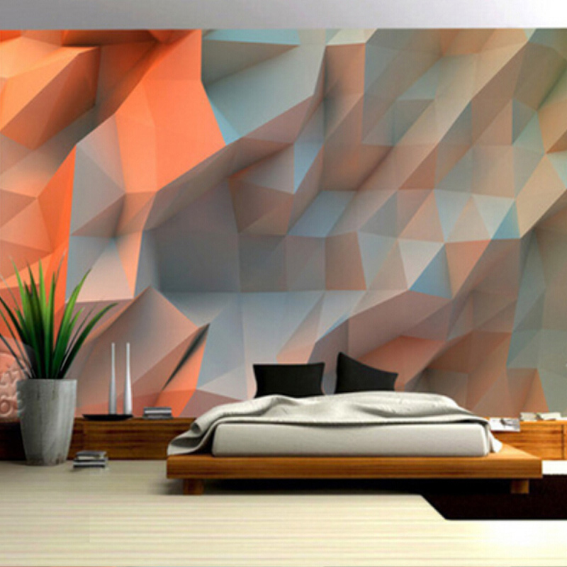 Custom Size Deep Embossed 3D Stereo Creative Art Brick Stone Wall Paper Eco-friendly Bedroom Simple Home Decor Mural Wallpaper