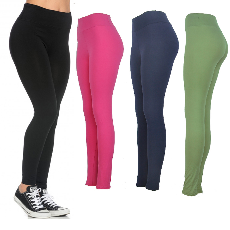 TOIVOTUKSIA Olive Green Sexy Wholesale Plus Size Leggings Sport Fitness Women Milk Silk Leggings in Leggings from Women 39 s Clothing