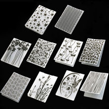 1Pcs Craft Card Making Wedding Decoration Plastic Template Photo Album Paper Cards Scrapbooking Embossing Folder(China)