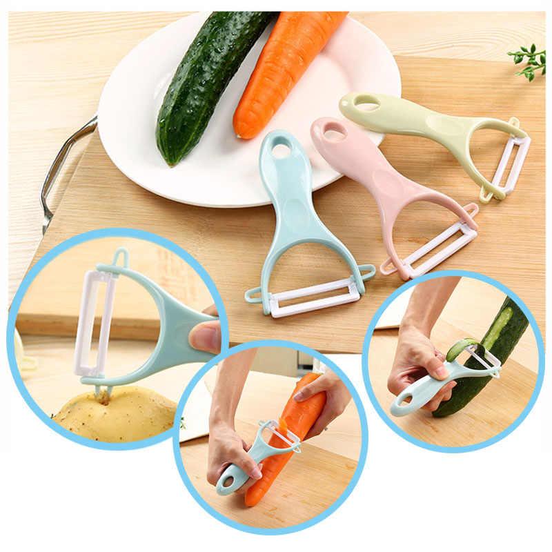 Высокое качество керамическое лезвие кухонный Многофункциональный рубанок для фруктов и овощей Овощечистка тонкий ломтик легко чистить и безопасно
