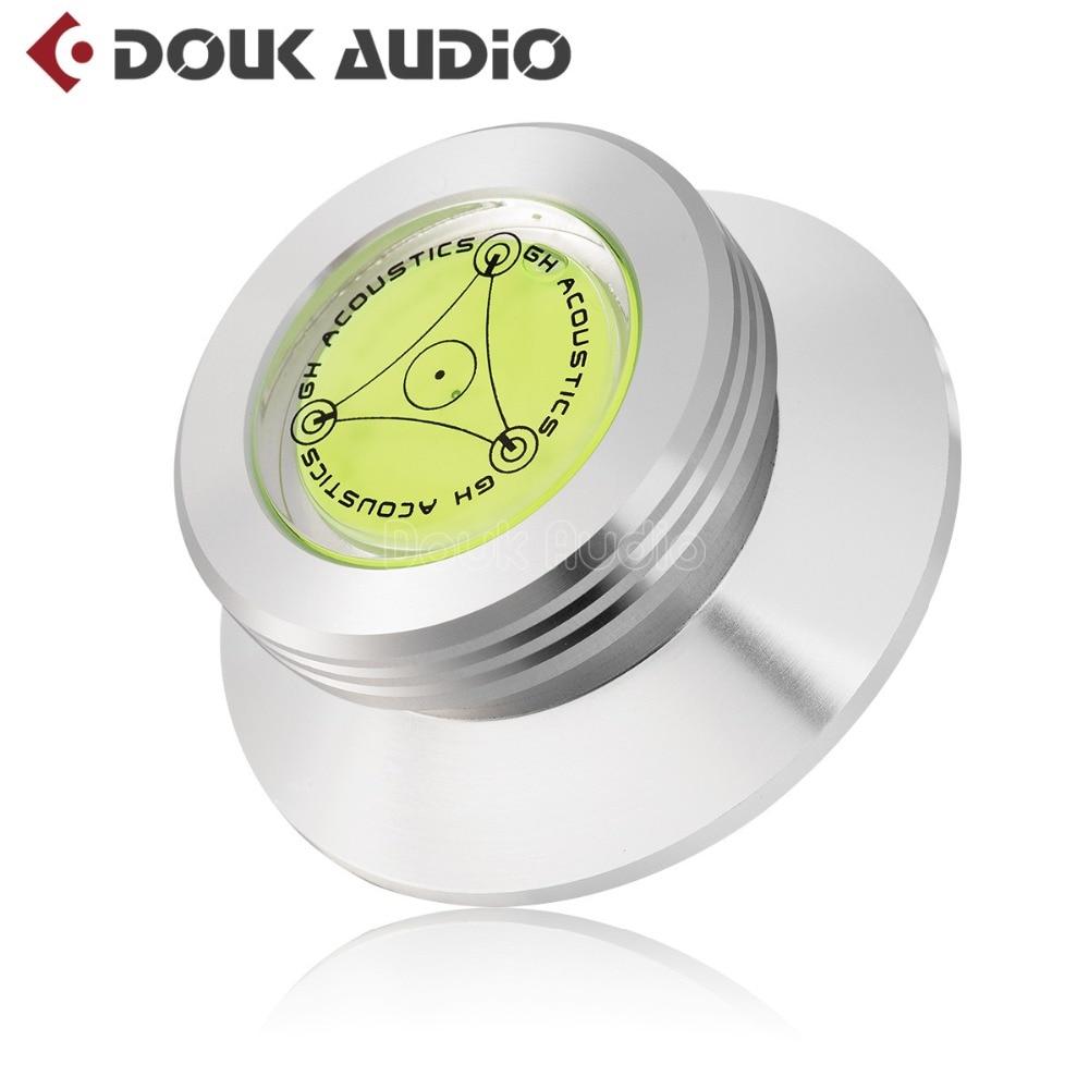 2018 Neue Douk Audio Multifunktions-Rekordgewicht LP Disc Stabilisator Plattenspieler Vinyl Clamp HiFi 230g