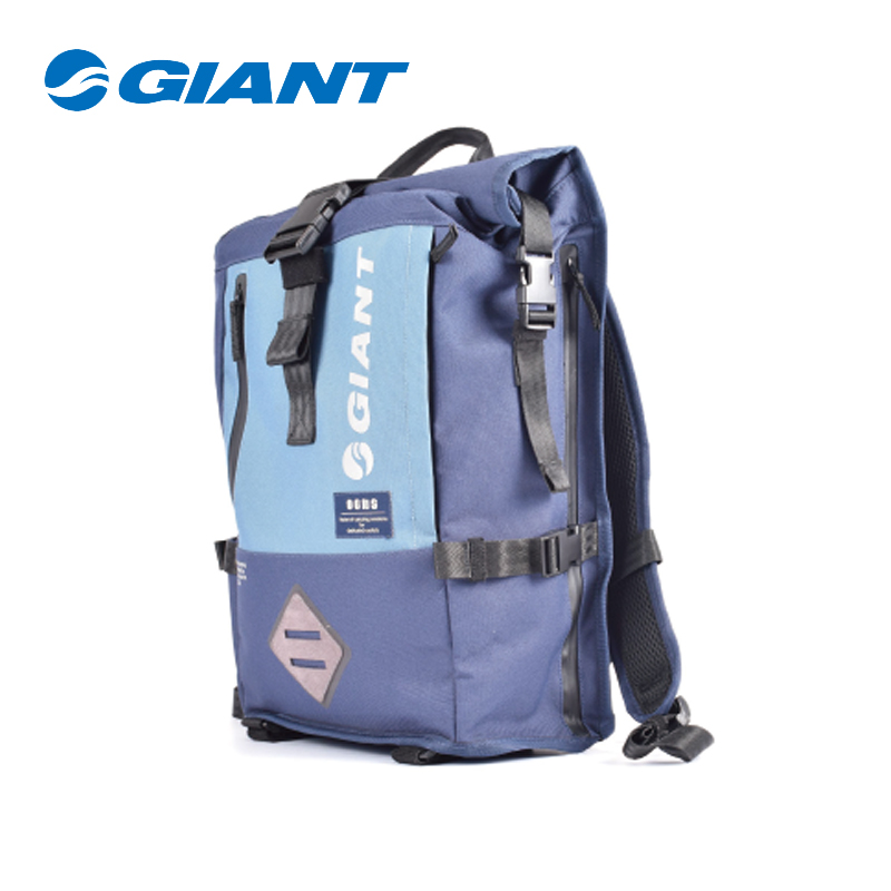 GIANT Roll Backpack Oxford Cloth Made Rainproof Multifunction Bag 28.5cm * 13cm * 51.5cm (error 0.5) bicycle accessoriesGIANT Roll Backpack Oxford Cloth Made Rainproof Multifunction Bag 28.5cm * 13cm * 51.5cm (error 0.5) bicycle accessories