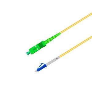 Image 3 - Vá Dây LC UPC để SC APC 1 m Cáp Quang LC G657A Nhảy Quang Sợi Dây Nhảy Simplex 2.0mm PVC Sợi Cáp SC Kết Nối